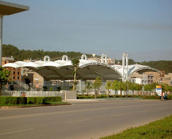交通膜结构棚